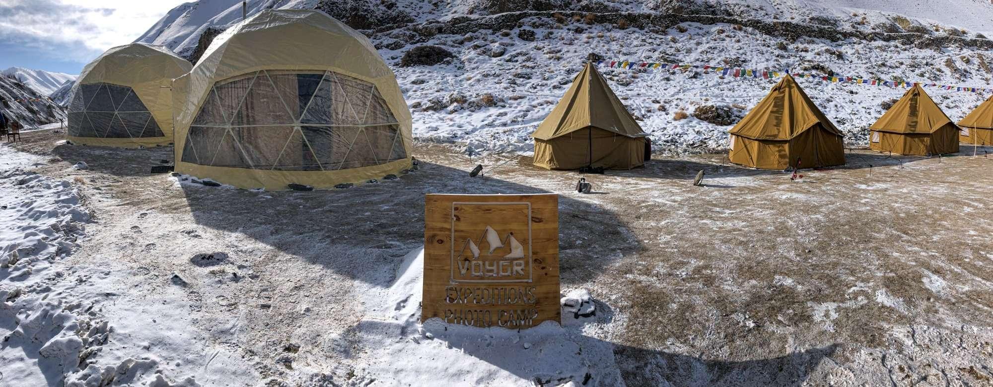 Voygr Camp - Snow Leopard Tour