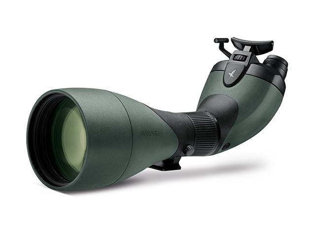 The Double Eye-piece Swarovski BTX Series Is The Best Scope For A Snow Leopard Excursion