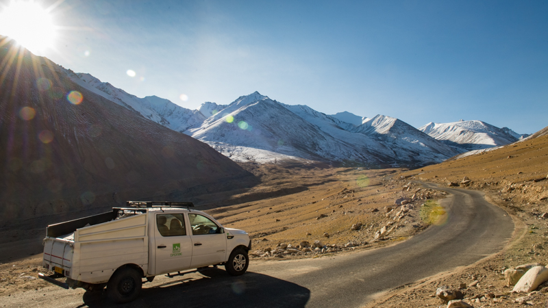 We Can Drive You To A Lot Of Places. But Not Mountaintops. No Snow Leopard Safaris Here. Only Tours And Expeditions.