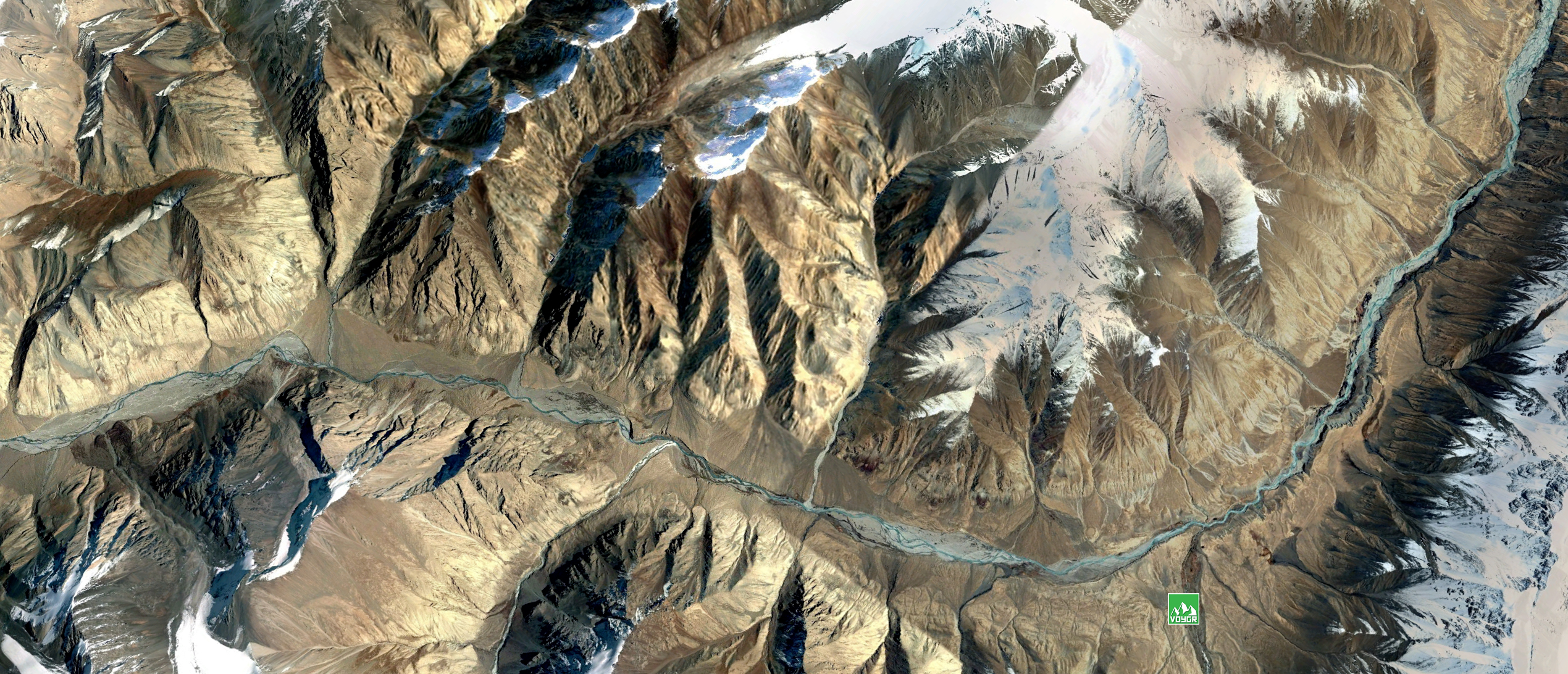 Terrain Overview Of Sarychat For The Snow Leopard Expedition To Kyrgzystan