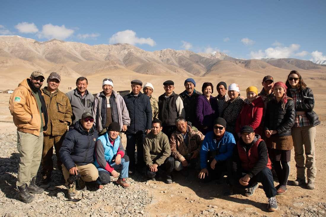 Community Meeting In Ak-Shirak