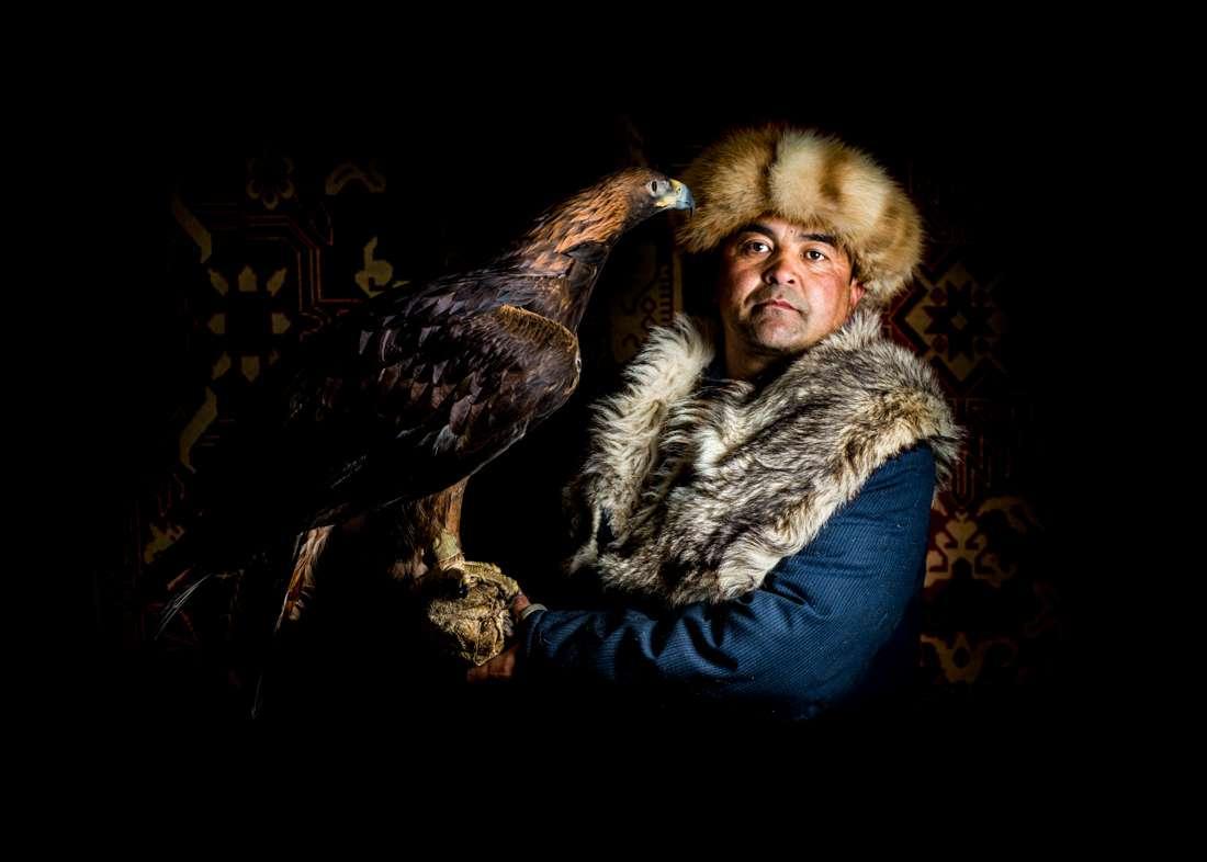 A Traditional Falconer, Kyrgyzstan