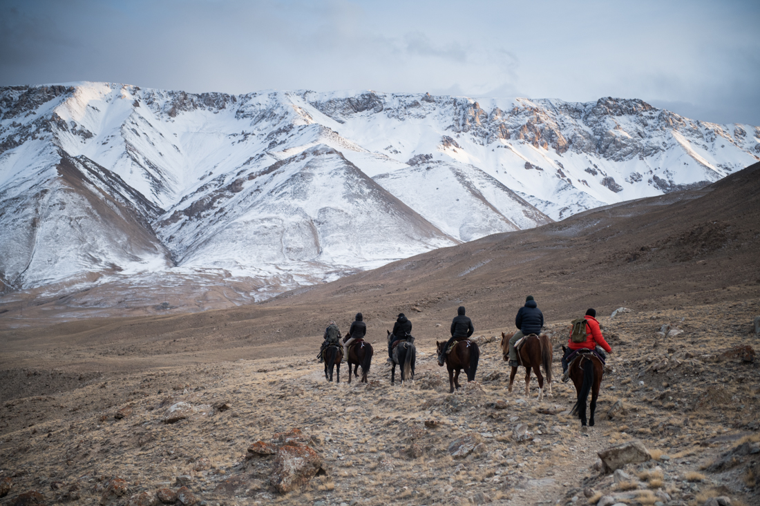 On The Trail In The Tian Shan On The Snow Leopard Expedition To Kyrgyzstan